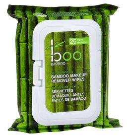 Boo Bamboo Makeup Remover Wipes 25 unit