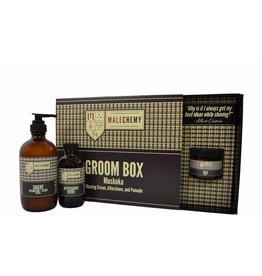 Cocoon Apothecary MALEchemy Groom Box