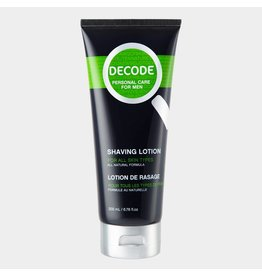 Decode Shaving Lotion For All Skin Types 200 ml