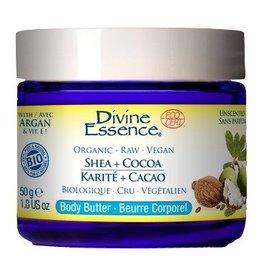 Divine Essence Organic Shea + Cocoa Body Butter 50 g