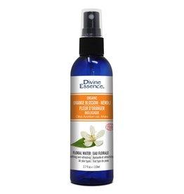 "Divine Essence Organic Orange Blossom ""Neroli"" Floral Water 110 ml"