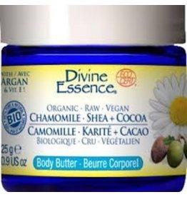 Divine Essence Organic Chamomile Shea + Cocoa 50 g