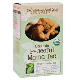 Earth Mama Peaceful Mama Tea 16 bags