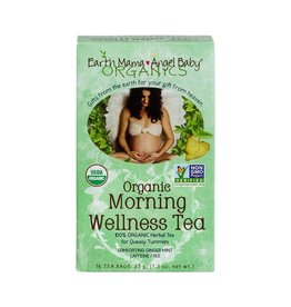 Earth Mama Organic Morning Wellness Tea 16 bags