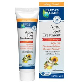 Earth's Care EC Acne Spot Treatment-Sulf10%-27g