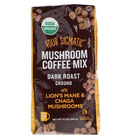 Four Sigmatic Four Sigmatic Ground Coffee with Lions Mane & Chaga 340 g