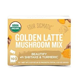 Four Sigmatic Four Sigmatic Golden Latte with Shiitake & Turmeric 10 x 6g