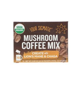 Four Sigmatic Four Sigmatic Mushroom Coffee Create with Lion's Mane & Chaga 10 x 2.5g