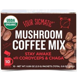 Four Sigmatic Four Sigmatic  Mushroom Coffee Achieve with Cordyceps & Chaga 10 x 2.5g