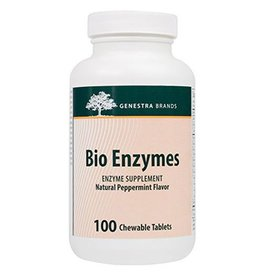 Genestra Bio Enzymes 100 Chewable Tablets