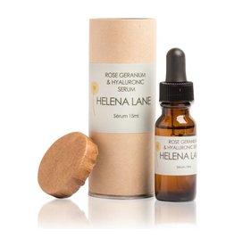 Helena Lane Rose Geranium & Hyaluronic Serum 15 ml