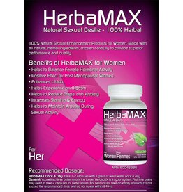HerbaMax Inc For Women Once A Day 10 caps
