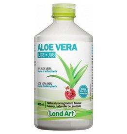 Land Art Land Art Aloe Vera Juice Pomegranate 500ml