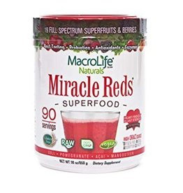 MacroLife Naturals Miracle Reds Canister 567g***
