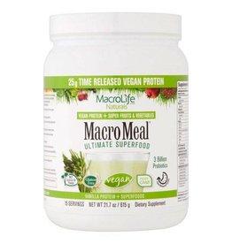 MacroLife Naturals MacroMeal Vegan Vanilla 15 serving-615g