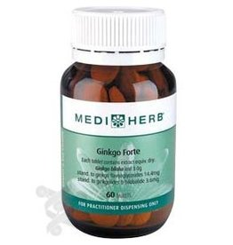 MediHerb Ginkgo Forte 60 tabs