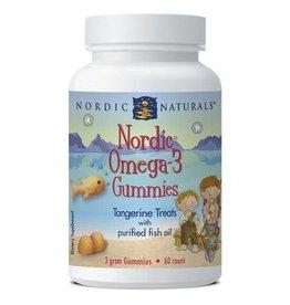 Nordic Naturals Omega-3 Gummies Tangerine 60s