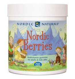 Nordic Naturals Nordic Berries Multivitamin Gummies for Adults and Kids 120
