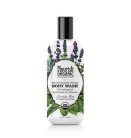 Nourish Organic Organic Body Wash (Lavender Mint)-295 ml