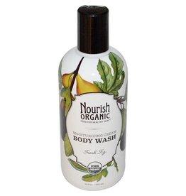 Nourish Organic Organic Body Wash (Fresh Fig)-295 ml