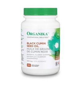 Organika Black Cumin Seed Oil 500 mg 60 caps***