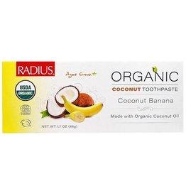 Radius Corporation Organic Coconut Banana Toothpaste 6mo+ 48g