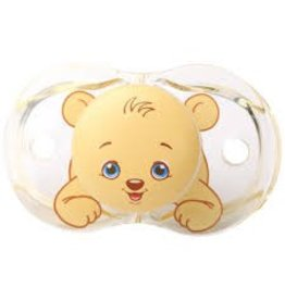 Raz Baby Keep-It-Kleen Pacifier 0-36 months Bobby Bear