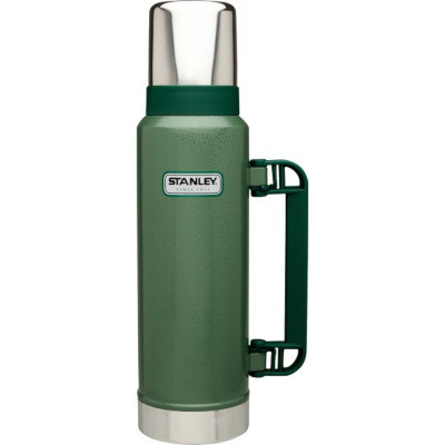 Stanley 2Qt Classic Vac Bottle Hammertone Green