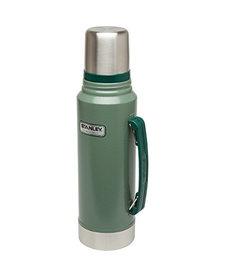 1.5Qt Classic Vac Bottle Hammertone Green