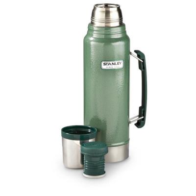 Stanley 1.5Qt Classic Vac Bottle Hammertone Green