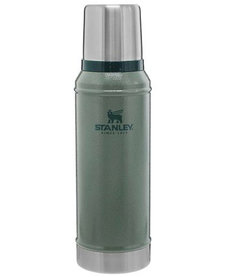 1.0Qt Classic Vac Bottle Hammertone Green