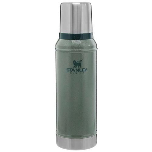 Stanley 1.0Qt Classic Vac Bottle Hammertone Green
