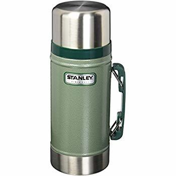 Stanley 1.0QT Classic VAC Food Jar Hammertone Green