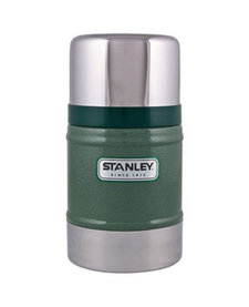 24OZ Classic VAC Food Jar Hammertone Green