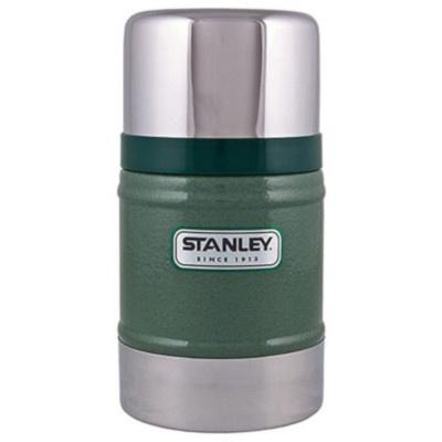 Stanley 24OZ Classic VAC Food Jar Hammertone Green