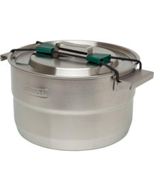 Adventure 3.7QT Basecamp Cook Set Silver