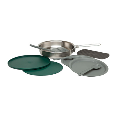 Stanley Adventure 32OZ Fry Pan Camp Cook Set Silver