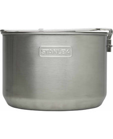 Adventure 1.5L 2-Bowl Camp Cook Set Silver