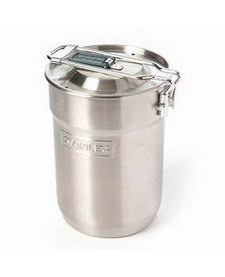 Adventure 24OZ 2-Cup Camp Cook Set Silver