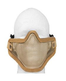 double band mesh mask tan