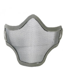 double band mesh mask grey
