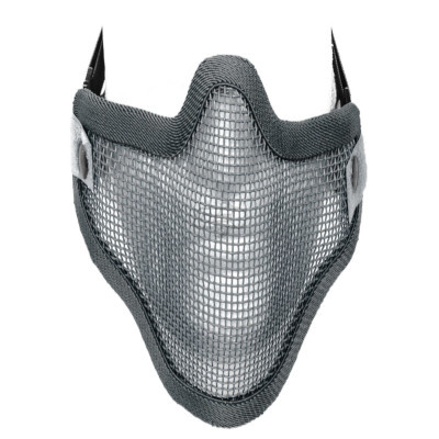 Gear Stock double band mesh mask grey