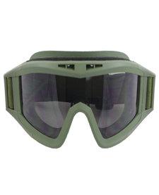goggles set olive drab