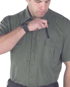 Lightweight Tactical Short Sleeved Dress Shirt - LAPD Navy