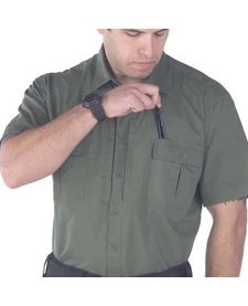 Lightweight Tactical Short Sleeved Dress Shirt - LAPD Navy