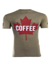 Black Rifle Coffee Maple Leaf Shirt