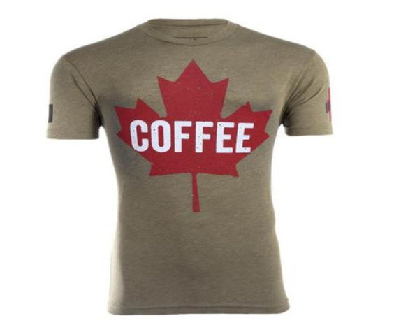 Black Rifle Coffee Company Maple Leaf Shirt