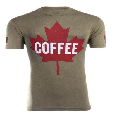Black Rifle Coffee Company Black Rifle Coffee Maple Leaf Shirt
