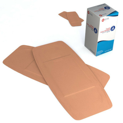 "Dynarex Flexible Fabric Bandages (2""x4-1/2"")"