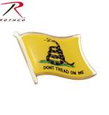 Rothco 'Don't Tread On Me' Flag Pin